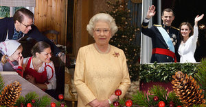 Jak slaví Vánoce královské rodiny?