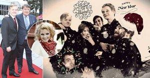 Vánoční vzkaz od Artura Štaidla: Máte se na co těšit, slibuje syn Ivety Bartošové