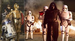 Star Wars vydělaly 25 miliard korun, nejrychleji v historii filmu