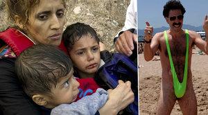 Borat daroval uprchlíkům 25 milionů! Peníze půjdou Syřanům