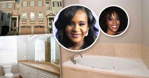 Dům dcery Whitney Houston je na prodej: Zveřejnili fotku vany, kde dívku našli