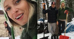 Peštová s Haberou hledají práci: Zamlouvá se jim odklízení sněhu