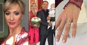 Daniela Šinkorová (43) se tajně vdala! Bylo to hrozně na rychlo, prozradila