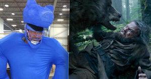 Vážně jste si mysleli, že na Lea poslali živého medvěda? Ani náhodou…