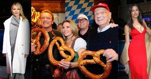 Schwarzenegger, Lauda, Paltrow a další hvězdy: Dali si sraz v Kitzbühelu