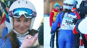 Nejslavnější zadeček v lyžařské kombinéze! Pippa Middleton vytáhla na svahu svou nejsilnější zbraň