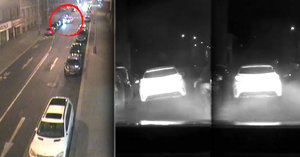 Divoká policejní honička v Praze: Zdrogovaný opilec naboural 10 aut