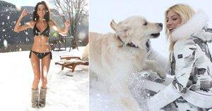 Modelky na sněhu: Bučková šla donaha, Perkausová našla lásku