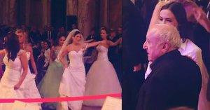 Felix Slováček bez Dády: S milenkou na přehlídce svatebních šatů! Dádo, dávej si pozor…