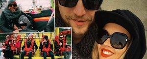 Tomáš Klus s rodinou tajně na Matějské! Co zpěvák pořídil své ženě?