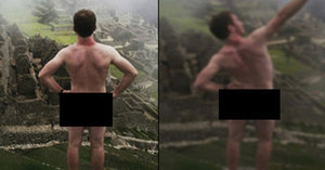 Nahého turistu zatkli v Peru, bimbase ukazoval v ruinách Machu Picchu