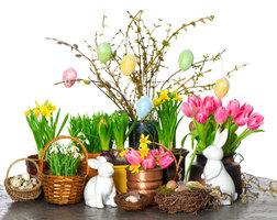 Video: Jarní dekorace na váš stůl, kterou za pár dní hravě změníte na velikonoční
