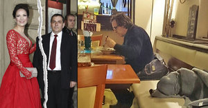Osamocený Kracik po rozchodu s Kostkovou večeří sám: Neměl proč spěchat domů?