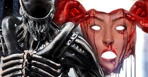 Vetřelec trhá vnitřnosti Kožené tváři: Recenze Mortal Kombat XL