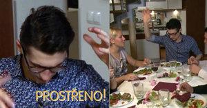 Vegetarián Daniel v Prostřeno: Místo masa naservíruje hostům kupu mouder!
