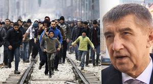"""""""Migranty do Česka pustit nemůžeme."""" Babiš svolává bezpečnostní radu, summit vynechá"""