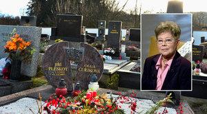 Smrt Olgy Čuříkové (†83) z Vlaštovky: Hrob si připravila předem!