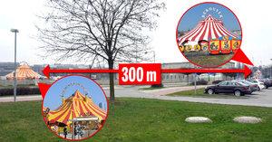 Stany rodiny Berousků stojí 300 metrů od sebe: Takhle zuří válka cirkusáků!