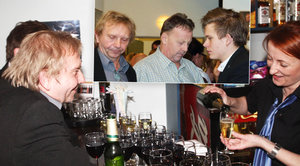 Přišel, viděl, vypil! Rozjařený Miroslav Vladyka na baru prokládal pivo vínem
