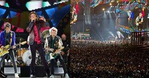 Rolling Stones hráli poprvé na Kubě. Přišlo na půl milionu fanoušků