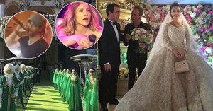Miliardová svatba: Oligarchův syn si vzal studentku. Zazpívali jim J.Lo, Sting a Enrique Iglesias