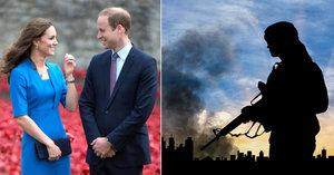 Británie bije na poplach: Kate s Williamem míří mezi teroristy! Tajné služby šílí