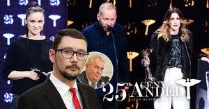 25. hudební ceny Anděl: Dusilová využila přímý televizní přenos a zaútočila na prezidenta! Vzpoura umělců proti Zemanovi!