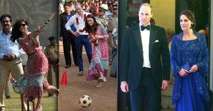 Královský odpal: Kate a William se předvedli na návštěvě v Indii