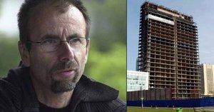 Tragická smrt režiséra Kouteckého (†49): Zřítil se z mrakodrapu na Pankráci! Je to právě 10 let