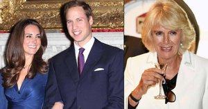 Chtěla rozeštvat Williama a Kate! Nová kniha odhaluje zákeřné plány vévodkyně Camilly