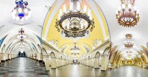 Luxus pod zemí: Moskevské metro je opravdové umění! Pražské proti němu nemá šanci
