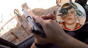 Dvouletý chlapec zastřelil matku: Hrál si s nabitou zbraní