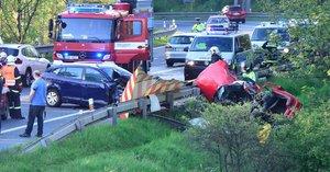 Autonehoda u Senohrab: Předjíždění stálo život dva lidi