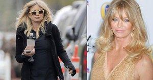 Goldie Hawn trochu šejdrem: Hollywoodská herečka nevychytala svůj outfit