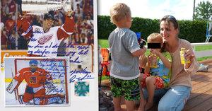 Hašek poslal dětem Michalákové pozdrav s autogramem. Co jim vzkázal?