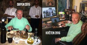 Karel Gott po překonání rakoviny: Tyto fotky dělí 9 měsíců!