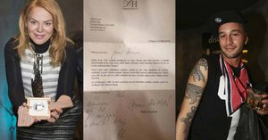 Havlová napsala osobní dopis pohasínající hvězdě Issovi: On ho zveřejnil!