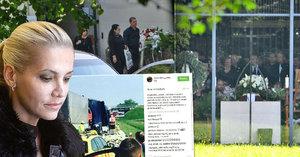 Krutá rána pro Daru Rolins: Nestihla pohřeb vlastního táty! Kvůli bouračce!