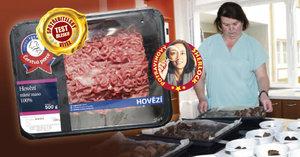 Spotřebitelský test hovězího: Polotovary dopadly lépe než maso!