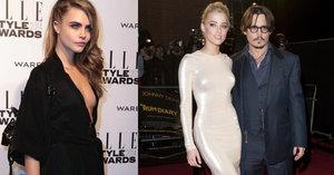 Depp mlátil manželku kvůli nevěře: Myslel si, že ho podvádí s holkou!