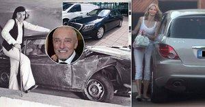 Vozový park Karla Gotta: Vozil se v autech za 16 milionů!