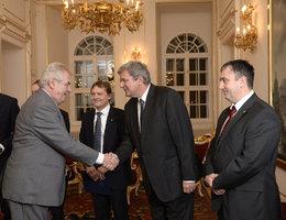 Zeman už se chystá na prezidentské volby. Jeho tým povede lobbista Jansta