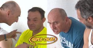 Superchlapi Jirka (60) a Ruda (42): Drsná hádka kvůli sázce!