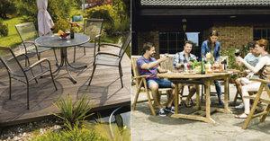 Zahradní nábytek je vizitkou vaší zahrady: Dejte zahradě šmrnc moderním nábytkem
