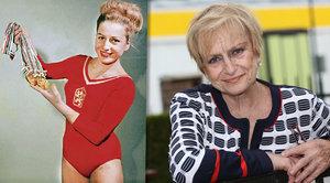 Poslední rozhovor s Věrou Čáslavskou (†74): Rakovina mi požírá celé tělo, ale bojuju