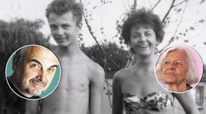 Těžký život matky Vladimíra Čecha (†61) Hedy: Táta se jí zastřelil, manžel ji opustil a syn zemřel