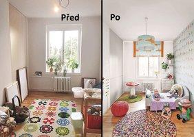 Proměna dětského pokoje: Holčička si připadá jako v lese!