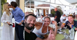 Novomanželé Taťána a Ondřej Gregorovi předčasně ukončili líbánky v Benátkách!