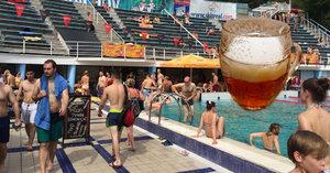 Srovnání cen alkoholu na koupalištích: V Motole mají pivo za 29 korun, na Džbánu za 39