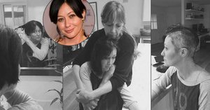 Brenda z Beverly Hills 902 10 si kvůli rakovině oholila vlasy: Bolest sdílela s fanoušky na Instagramu